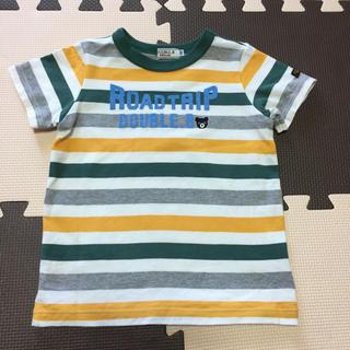 DOUBLE.B - ミキハウス ダブルB ボーダー半袖Tシャツ 100