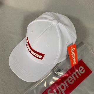 シュプリーム(Supreme)の☪ supreme キャップ ホワイト ☪(キャップ)