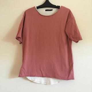 レイジブルー(RAGEBLUE)のRAGEBLUE  ピンクTシャツ(Tシャツ/カットソー(半袖/袖なし))