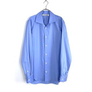 ジョンローレンスサリバン(JOHN LAWRENCE SULLIVAN)のttt_msw 19ss ブルー オープンカラーシャツ(シャツ)