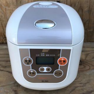 【送料込】3.5合炊き 炊飯器 BK-R60
