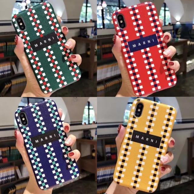 galaxy s8ケース ルイヴィトン 、 Marni - iPhoneケースの通販 by coco♡'s shop|マルニならラクマ