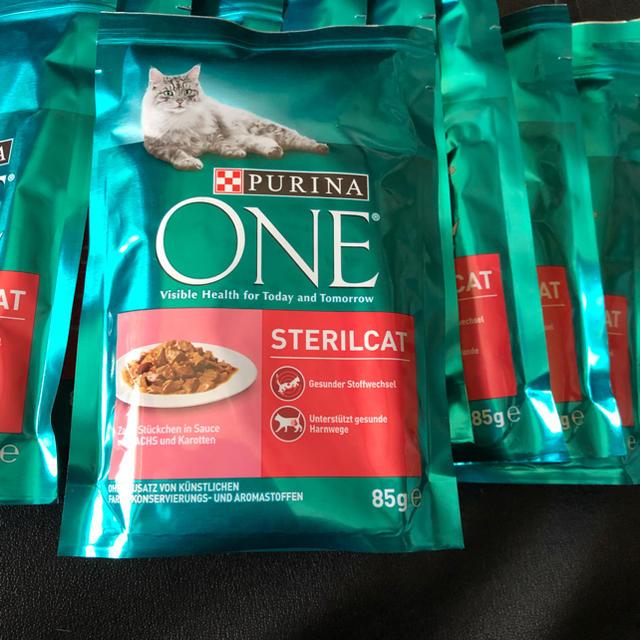 Nestle(ネスレ)のピュリナワン 猫パウチ  85g 10個 その他のペット用品(ペットフード)の商品写真