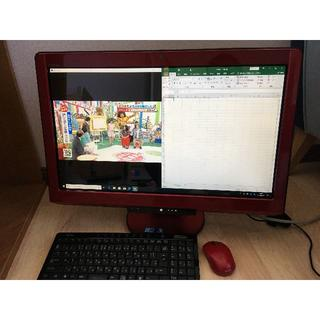 富士通 - FH700/BN i5 23型 3波TV W録画 Win10 Office タッ