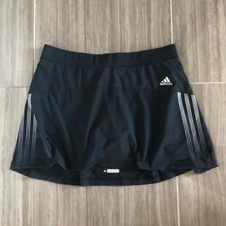 アディダス(adidas)のadidas RESPONSE スカート スコート ブラック M(USサイズ)(ウェア)