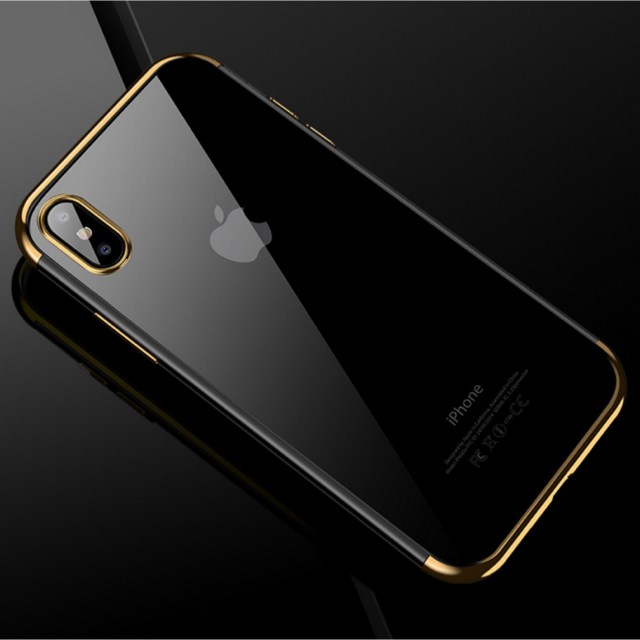 iphone 8 plus ケース セーラームーン 、 アイフォンX/XS iPhoneX/XSクリアケース☆ゴールド☆送料無料☆父の日の通販 by ロゴ's shop|ラクマ