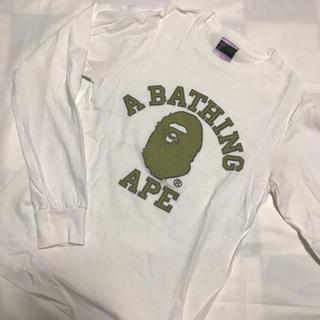 アベイシングエイプ(A BATHING APE)のA BATHING APE ロンT (値下げ不可)(Tシャツ/カットソー(七分/長袖))