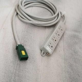 パナソニック(Panasonic)のハーネス用OAタップ4口、長さ5m(その他)
