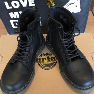ドクターマーチン(Dr.Martens)の超美品 ドクターマーチン キッズ 8ホール ブーツ 19cm UK12(ブーツ)