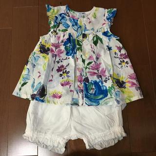 5d9f96c6817d2 ハッカベビー(hakka baby)のハッカベビー チュニック セットアップ サイズ90(Tシャツ