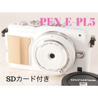 OLYMPUS - オリンパス PEN E-PL5 レンズセット オリンパス  PEN  E-PL5