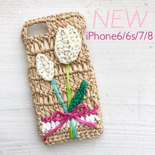 【新品】iPhoneケース チューリップ