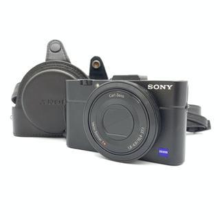SONY -  ソニー SONY RX 100 M2 デジタル カメラ  ケース付き  ブラ