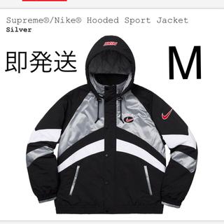 Supreme - シュプリーム ナイキ シルバー ジャケット