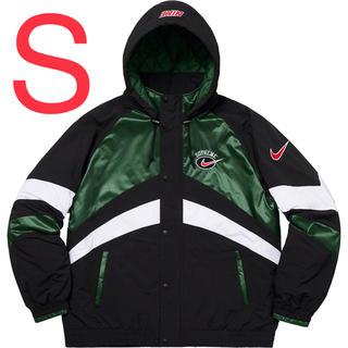 Supreme - Supreme / Nike hooded sport jacket green