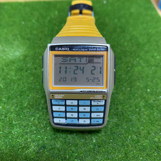カシオ(CASIO)のCASIO カシオ データバンク(腕時計(デジタル))