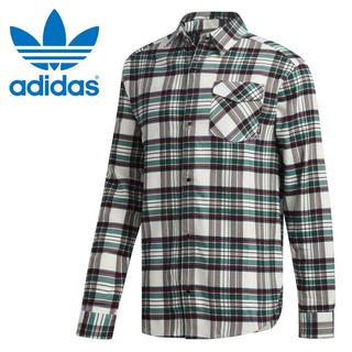 アディダス(adidas)の半額 アディダス Mサイズ スケートボーディング タータン フランネル シャツ(シャツ)