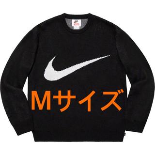 Supreme - Supreme NIKE swoosh sweater 黒M