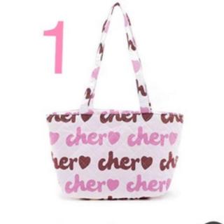シェル(Cher)の新品*cher バッグ(トートバッグ)
