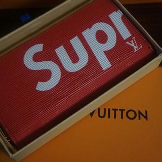LOUIS VUITTON - Louis vuitton×SUPREME ジッピー·オーガナイザー 長財布