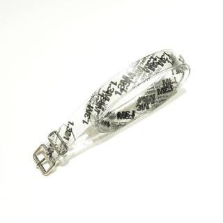 バレンシアガ(Balenciaga)のdoublet print pvc belt(ベルト)