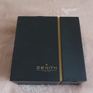 ゼニス(ZENITH)のZENITH 箱のみ(腕時計)