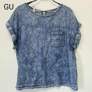 GU - GU デニム風トップス
