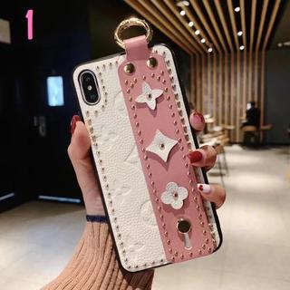 高級感溢れる 花柄風 iPhoneケース