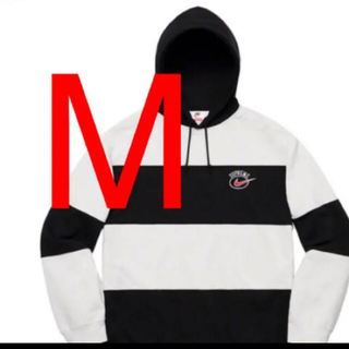 Supreme - 【即日発送】Nike® Stripe Hooded Sweatshirt  白黒