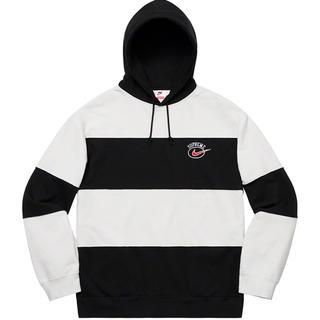 Supreme - M Supreme Nike Stripe Hooded Sweatshirt