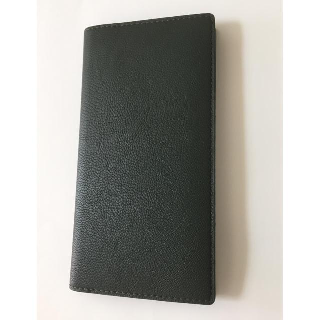 iPhoneXRケース手帳型 モスグリーンの通販 by くるみ's shop|ラクマ