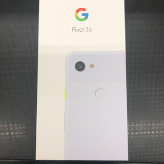 Softbank - 未使用【Pixel 3a】64GB Clearly White