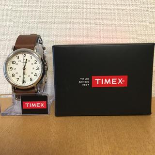 タイメックス(TIMEX)のタイメックス ウィークエンダー40 キャメル(腕時計(アナログ))