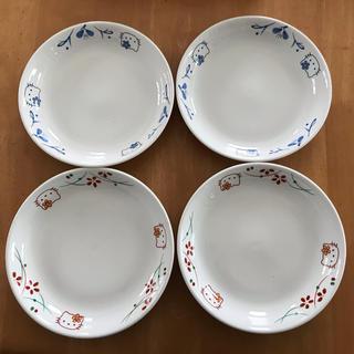 ハローキティ(ハローキティ)のハローキティ 有田焼 皿 4枚セット(食器)