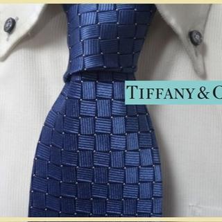Tiffany & Co. - 美品★ティファニー★Tiffany & Co【美しい輝き】高級ネクタイ★