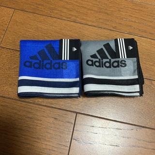 アディダス(adidas)のハンカチ アディダス 2枚 ☆新品☆(その他)