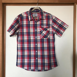マウジー(moussy)のSTOOGES & Co moussyメンズライン チェックシャツ(シャツ)
