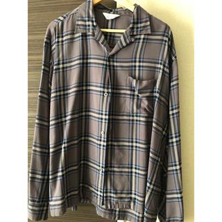 アンユーズド(UNUSED)のUNUSED 18AW rayon check shirt(シャツ)