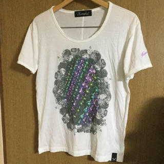 グランドキャニオン(GRAND CANYON)のお値下げ Honey phick チェーンリング Tシャツ 未使用 (Tシャツ/カットソー(半袖/袖なし))