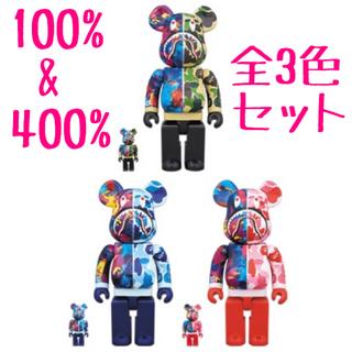 アベイシングエイプ(A BATHING APE)のBE@RBRICK BAPE × M / SHARK 100%&400% 全3色(キャラクターグッズ)