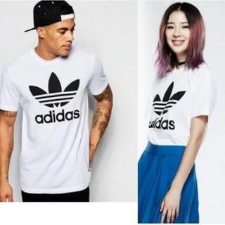 adidas originals 半袖 ロゴ  トレフォイル Tシャツ 新品 M