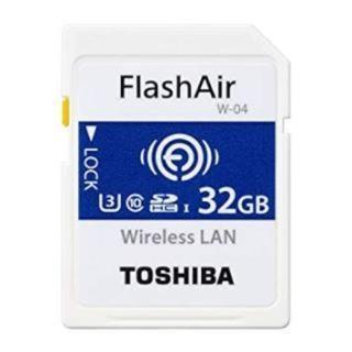 東芝 - flashair  フラッシュエアー 32GB 新品未開封 無線LAN搭載