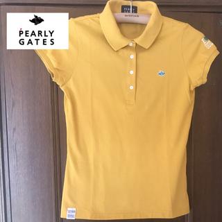 PEARLY GATES - 【美品】パーリーゲイツ レディースポロシャツ