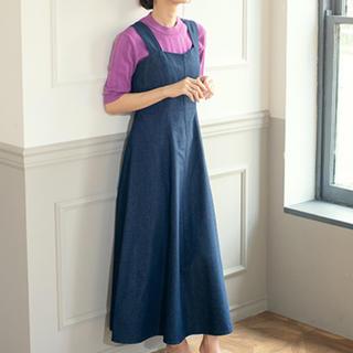 Cherie Mona - デニムジャンバースカート