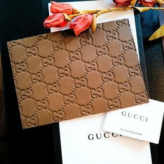 Gucci - GUCCI leather post card