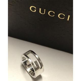 Gucci - GUCCI  シルバーリング❤︎