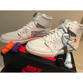 ナイキ(NIKE)のNike Air Jordan 1 x Off-White 30cm(スニーカー)