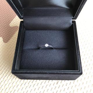 ☆新品未使用品☆ プラチナ900 ダイヤモンド リング♪(リング(指輪))