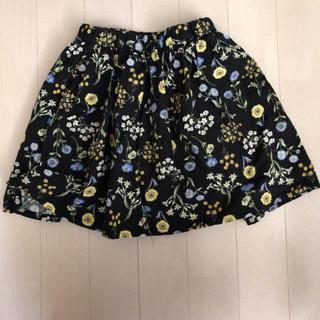 プティマイン(petit main)のプティマイン花柄スカート 110cm(スカート)