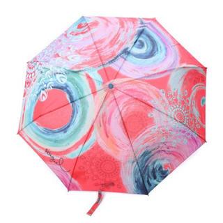 デシグアル(DESIGUAL)のデシグアル Desigual UMBRELLA_BONDI ROJO FRESA(傘)